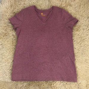 Carhartt Women's Pink T Shirt Regular Fit
